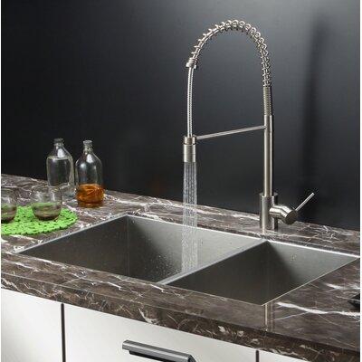 Nesta 29 x 19 Undermount Double Bowl Kitchen Sink