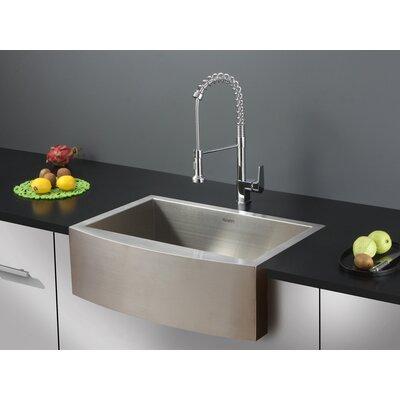 Verona 36 x 21 Apron Front Single Bowl Kitchen Sink