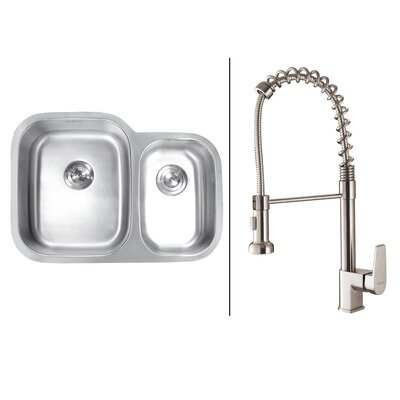 29.5 x 21 Kitchen Sink with Faucet
