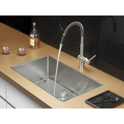 Gravena 32 x 19 Undermount Single Bowl Kitchen Sink