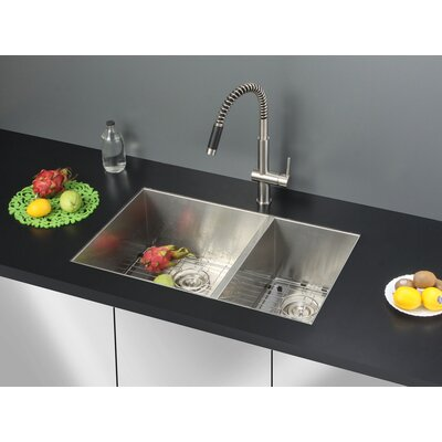 29 x 19 Kitchen Sink with Faucet