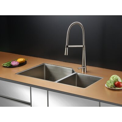 33 x 20 Kitchen Sink with Faucet