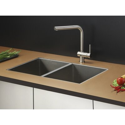 Nesta 30 x 19 Undermount Double Bowl Kitchen Sink