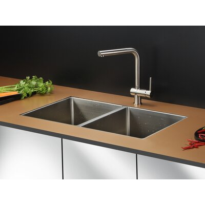 Gravena 32 x 19 Undermount Double Bowl Kitchen Sink