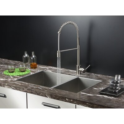 Nesta 32 x 20 Undermount Double Bowl Kitchen Sink