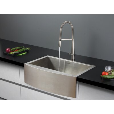 30 x 21 Kitchen Sink with Faucet