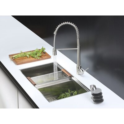 33 x 19 Kitchen Sink with Faucet
