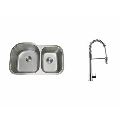 31.5  x 20.75 Kitchen Sink with Faucet