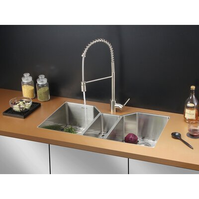 35 x 19.5 Kitchen Sink with Faucet