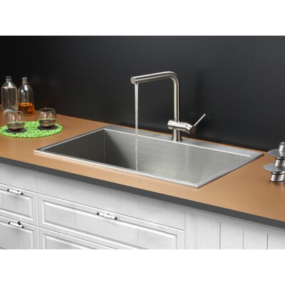 33 x 21 Kitchen Sink with Faucet