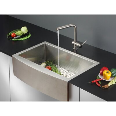 Verona 33 x 22 Apron Front Single Bowl Kitchen Sink