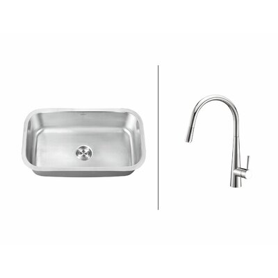 31.5 x 18.25 Kitchen Sink with Faucet