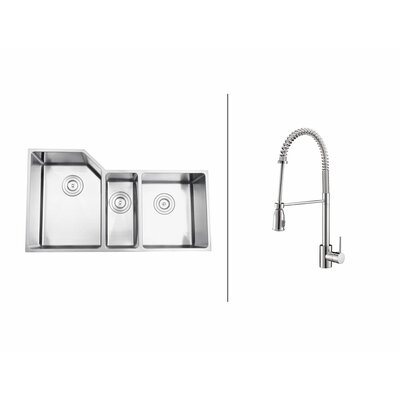 33.75  x 19.13 Kitchen Sink with Faucet
