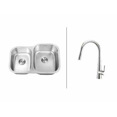 32 x 21 Kitchen Sink with Faucet