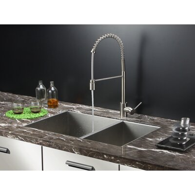 32 x 20 Kitchen Sink with Faucet