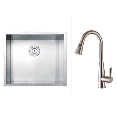 23 x 20 Kitchen Sink with Faucet