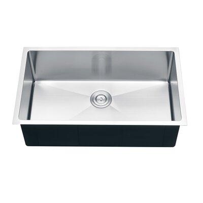 Gravena 30 x 18 Undermount Single Bowl Kitchen Sink