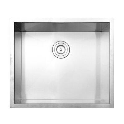 Nesta 23 x 18 Undermount Single Bowl Kitchen Sink