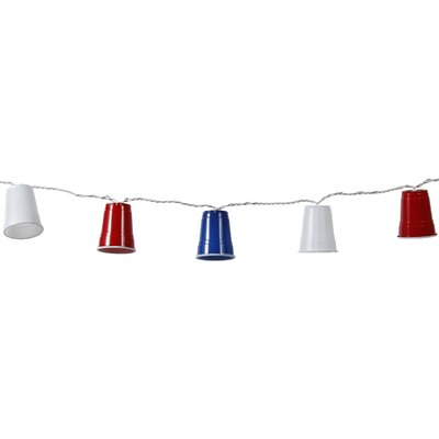 Party Cup 10 Light String Light 95175