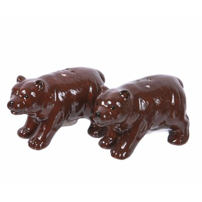 Woodland River 2 Piece Salt and Pepper Shakers Set