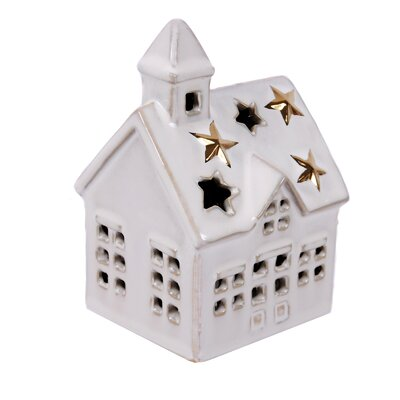 Merry and Bright Ceramic House Plug Night Light