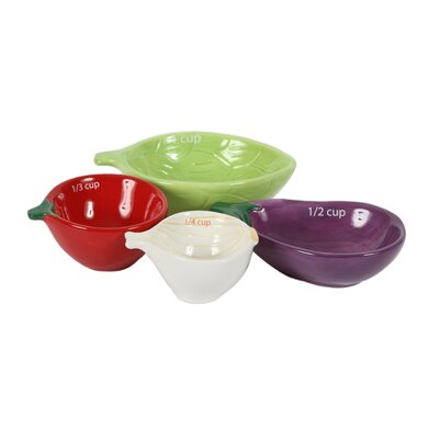 4 Piece Vegetable Measuring Cup Set 55468