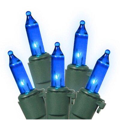 100 Christmas Light Color: Blue