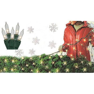 Twinkling Net Christmas Light Color: Clear