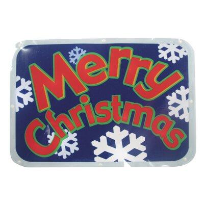 Brite Star Merry Christmas Show Sign 20 Light LED Light 48-209-00