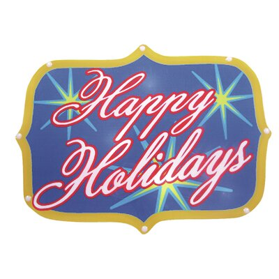 Brite Star Happy Holidays Show Sign 20 Light LED Light 48-210-00