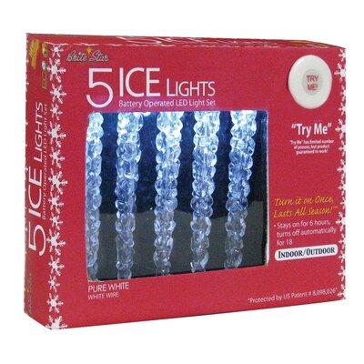 5 Light Ice LED Lights 41-411-00