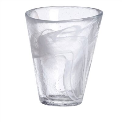 Mine White Tumbler Glass