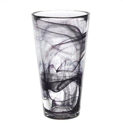 Mine Tall Black Tumbler Glass