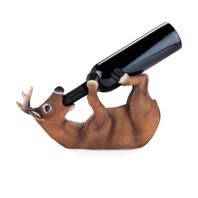 Drunken Deer 1 Bottle Tabletop Wine Rack by Foster and Rye