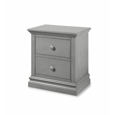 Stone Harbor 2 Drawer Nightstand Finish: Cloud