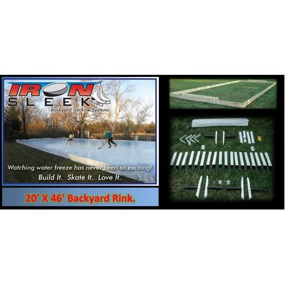 Iron Sleek Skating Rink Kit - Size: 20' x 46' at Sears.com