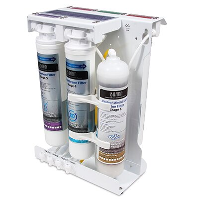 Reverse Osmosis 6-Stage Water Filter System