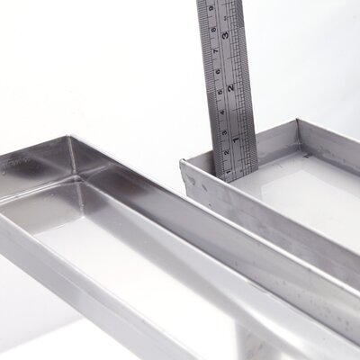 Stainless Steel 2 Grid Shower Drain
