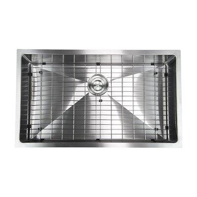 30 x 18 Undermount Kitchen/Bar Sink with Grid