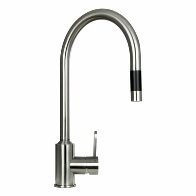 Flor Single Handle Pull-Out Kitchen Faucet