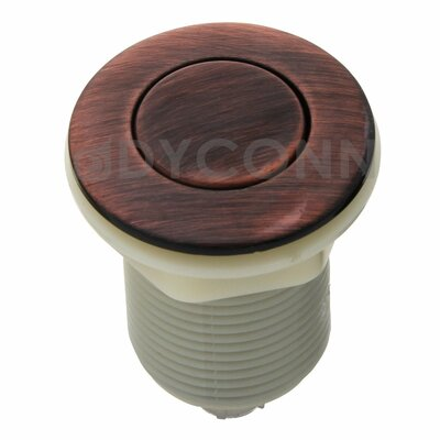 Garbage Disposal Sink Top Air Switch for Kitchen Counter Finish: Oil Rubbed Bronze
