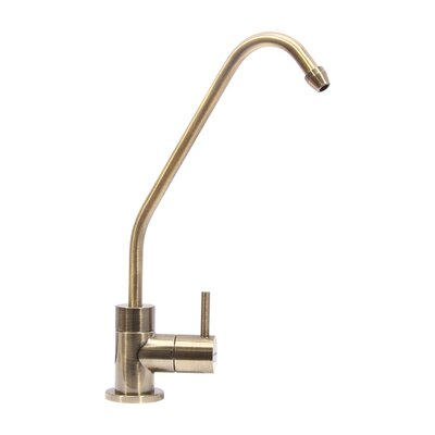 Single Handle Drinking Water Faucet for RO Filtration System Finish: Brass