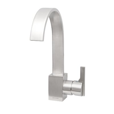 Signature Series Single Handle Kitchen Faucet Finish: Brushed Nickel