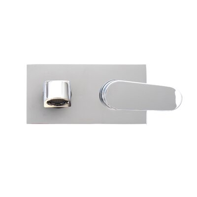 Signature Series Single Handle Wall Mount Faucet Finish: Polished Chrome
