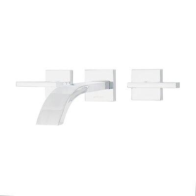 Signature Series Levantine Double Handle Wall Mount Lavatory Faucet Finish: Polished Chrome