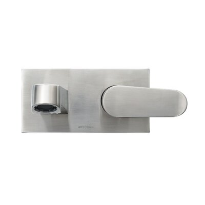 Signature Series Single Handle Wall Mount Faucet Finish: Brushed Nickel