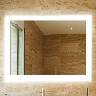 "Royal Bathroom Mirror Size: 36"" H x 48"" W"