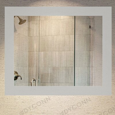 "Royal Bathroom Mirror Size: 30"" H x 36"" W"