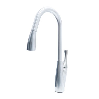 Delaware Modern Dual Spray Single Handle Pull Out Standard Kitchen Faucet