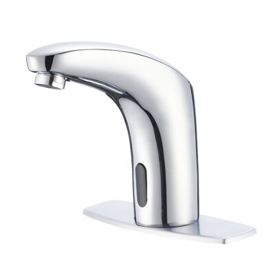 Nelson Hands/Touch Free Motion Sensor Bathroom Faucet Less Handles Finish: Polished Chrome